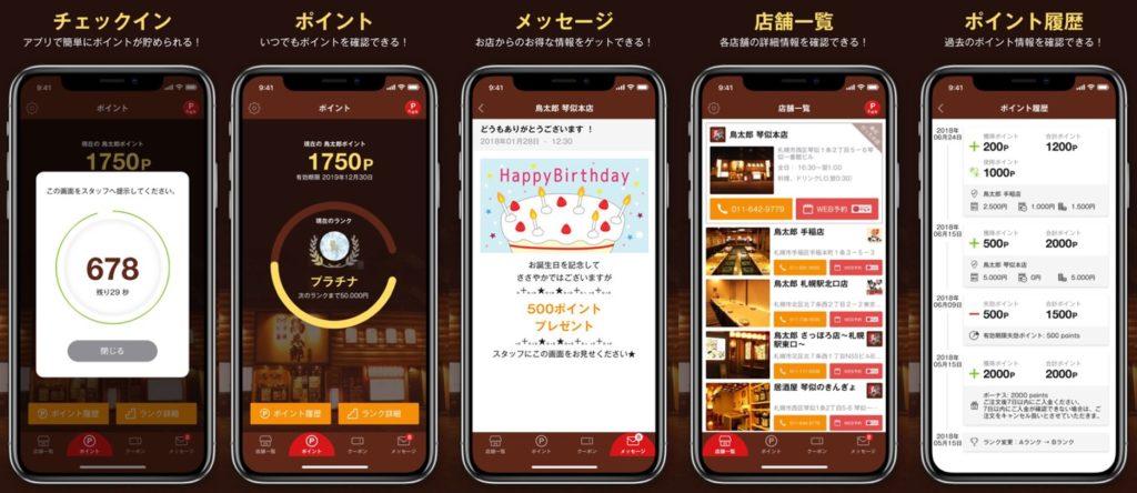 鳥太郎アプリイメージ画像
